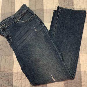 Vera Wang Crop Jeans